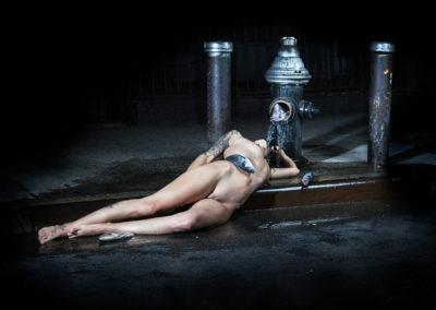 Ofelia drowns in Brooklyn 2014
